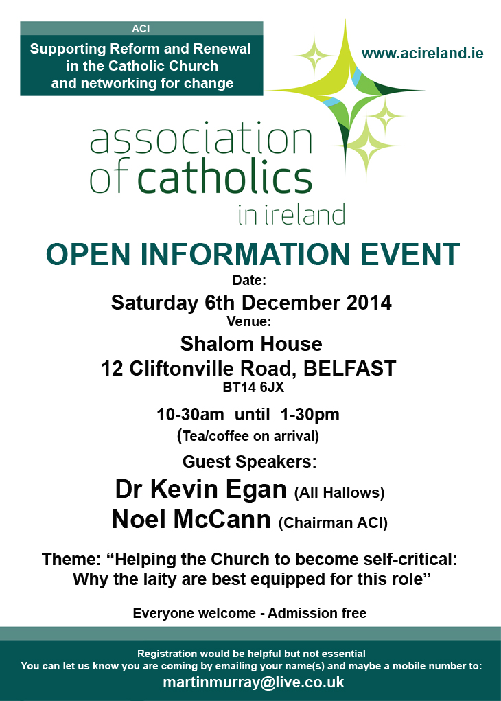 ACI_BELFAST INFORMATION EVENT_POSTER A4_WITH OPTIONAL REGISTRATION INFO 730