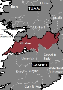 Location of Killaloe Diocese