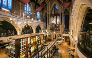 A pub that was once a church - in Nottingham, England