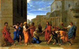 woman taken in adultery