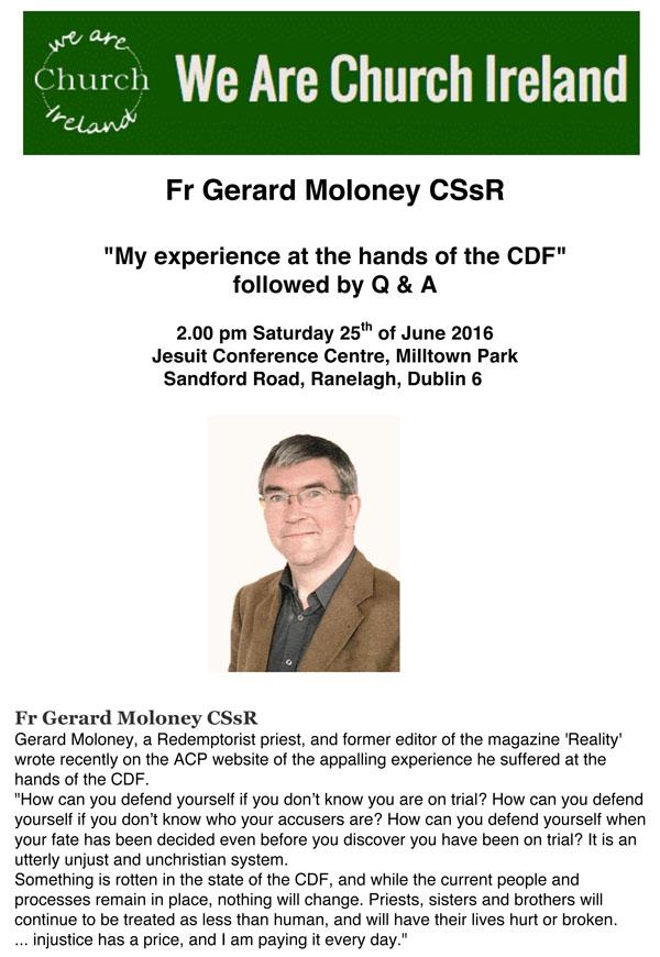 Microsoft Word - WAC Gerry Moloney 25 June 2016.doc
